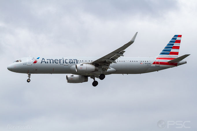 N142AN A321-231 6711 American Airlines - Seattle Tacoma