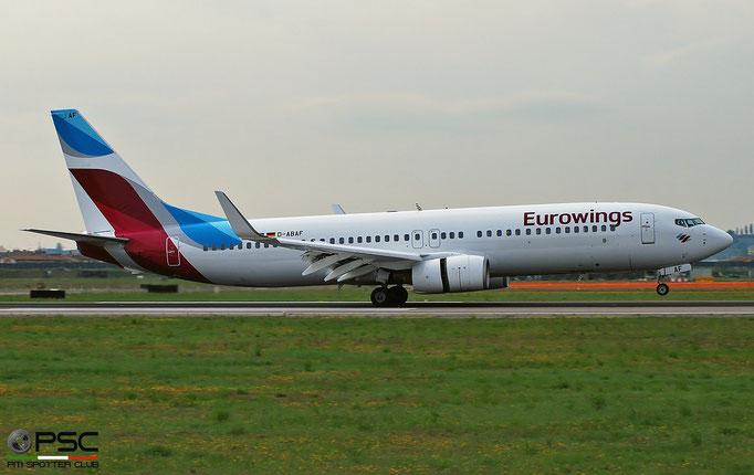D-ABAF B737-86J 30878/844 Eurowings  © Piti Spotter Club Verona