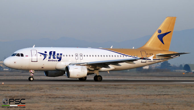 EI-GFN A319-111 2442 I Fly @ Aeroporto di Verona 04.2019  © Piti Spotter Club Verona
