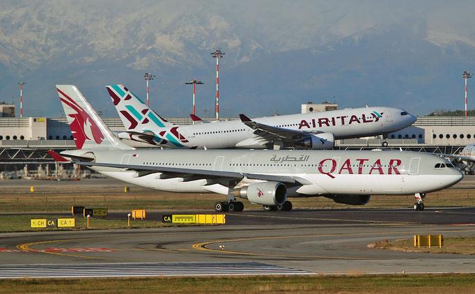 A7-AEE A330-302E 711 Qatar Airways @ MXP