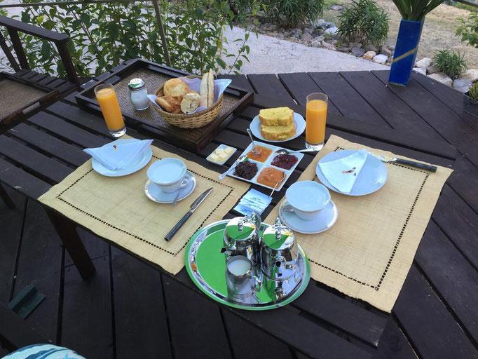 un exemple de petit déjeuner