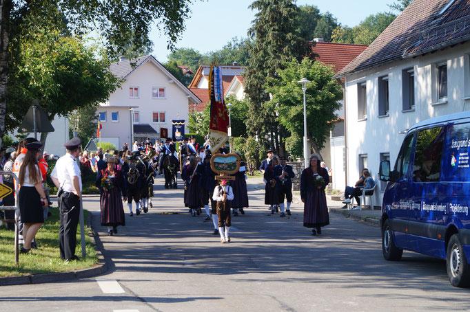 Musikverein Immenried, der unsere Blutreitergruppe musikalisch begleitete
