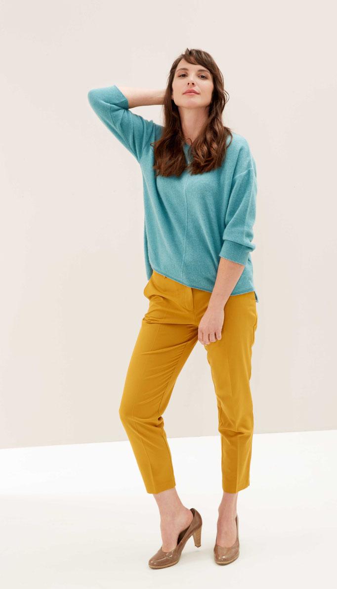 sweater cashmere mint color