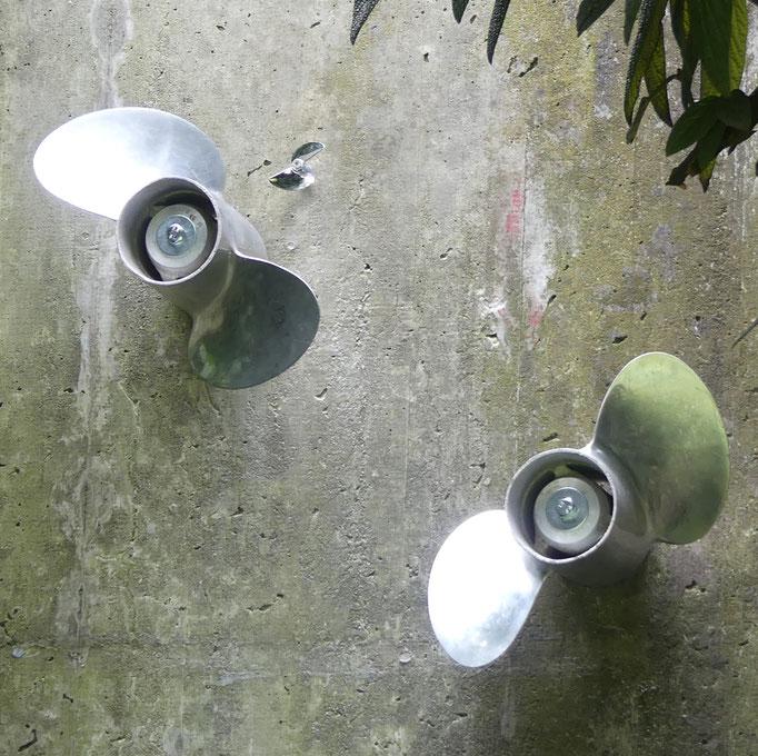 Kunst im Faulerbad  - Aussenborder - 2019/20 Konrad Wallmeier