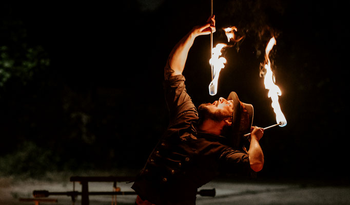 Feuerschlucker Show