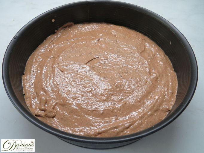 Schokoladen Mandeltorte Rezept mit Schritt für Schritt Anleitung