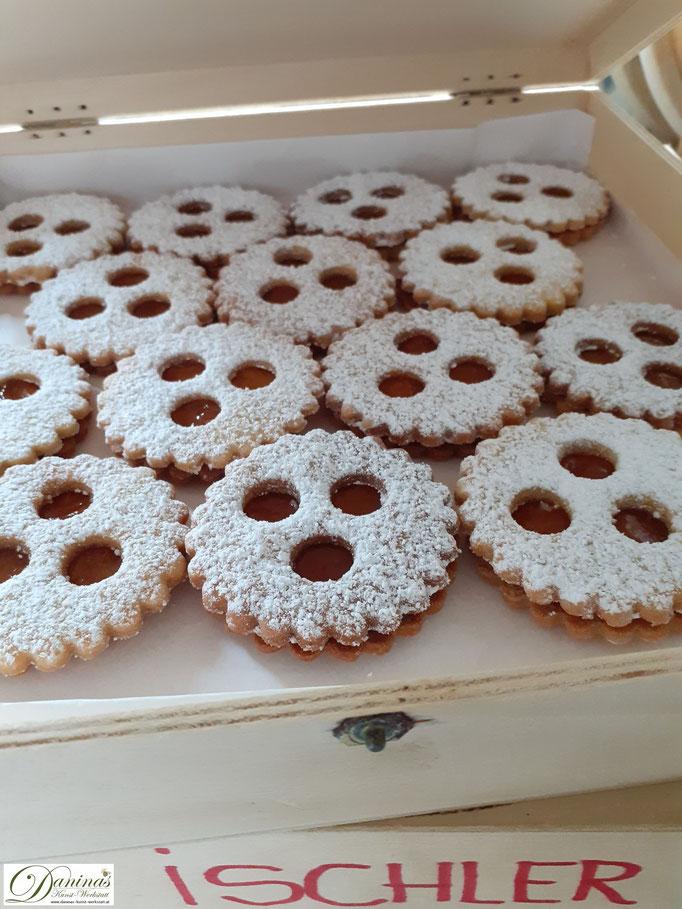 Ischler Plätzchen Weihnachtsbäckerei