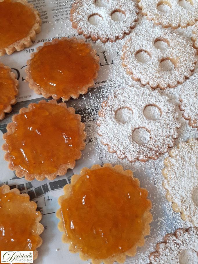 Ischler Kekse, traditionelle österreichische Weihnachtsbäckerei