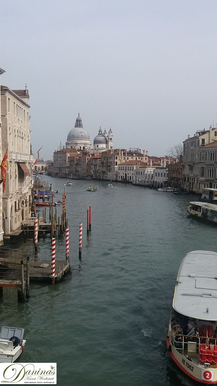 Venedig Canal Grande - Accademia & Kirche Santa Maria della Salute