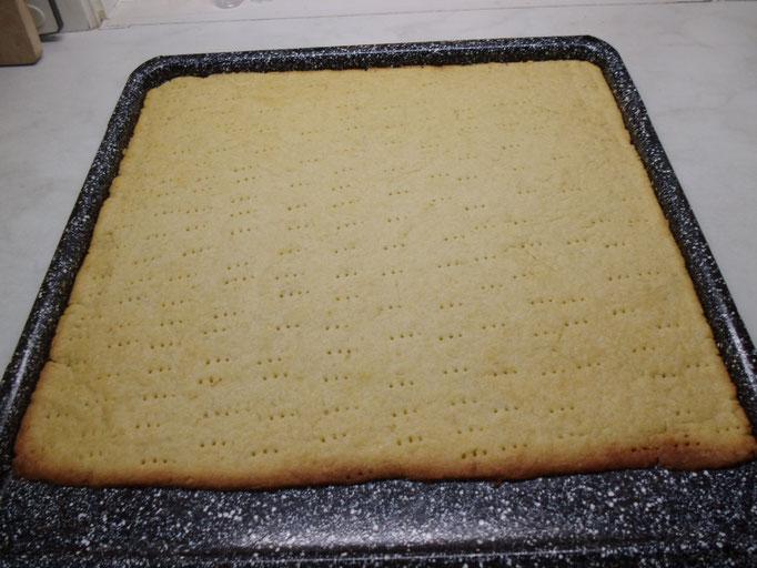 Rhabarberkuchen mit Baiser Schritt für Schritt Anleitung