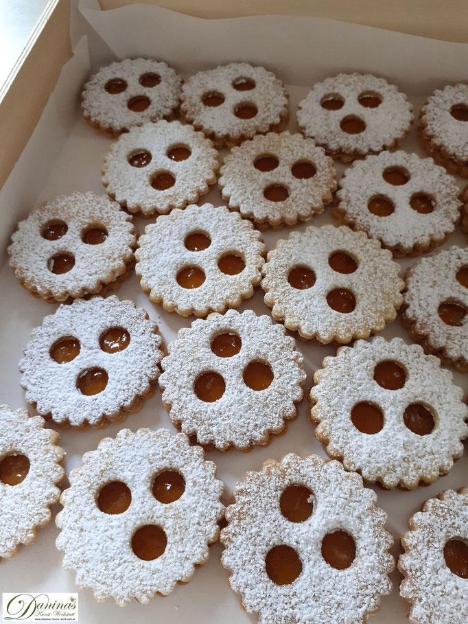 Feine Ischler Kekse - Konditorrezept