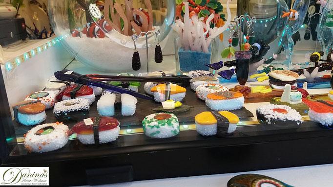 Murano - Venedigs Glasbläser Insel (Glas Sushi)