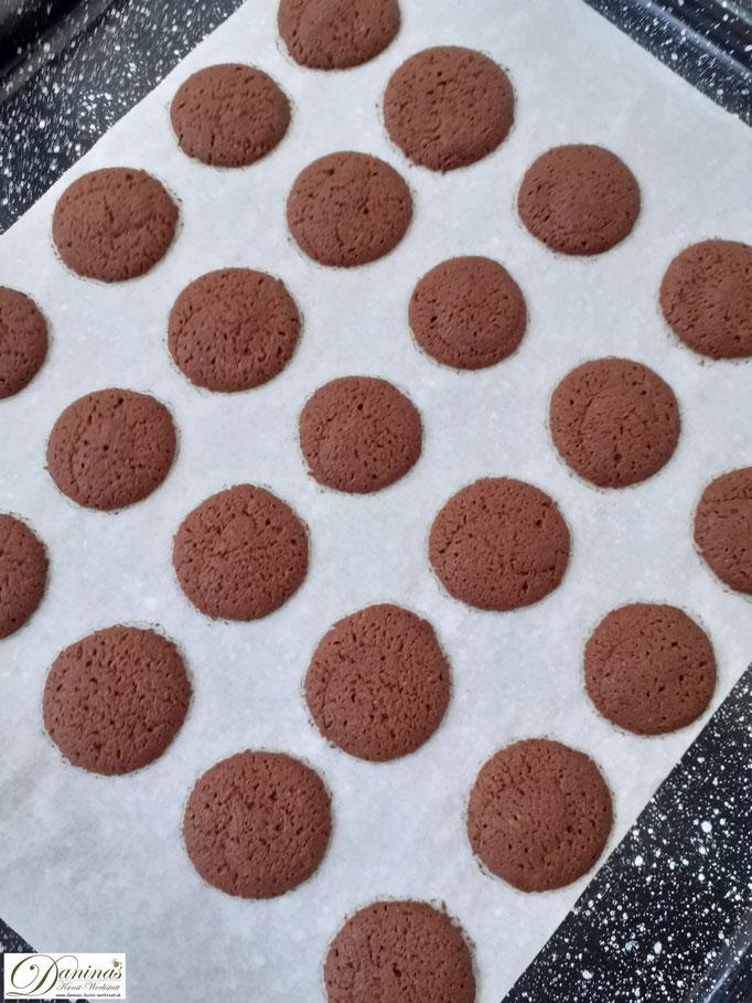 Spritzgebäck: Nero Schoko Kekse Rezept mit Pariser Creme