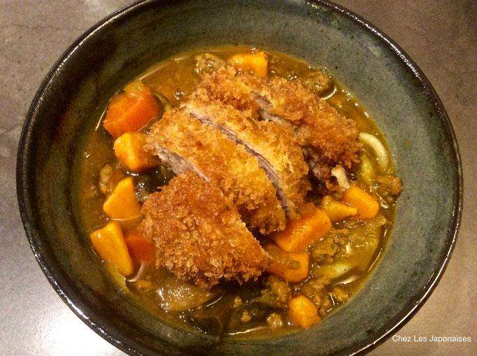 かつカレー Curry Rice avec porc pané