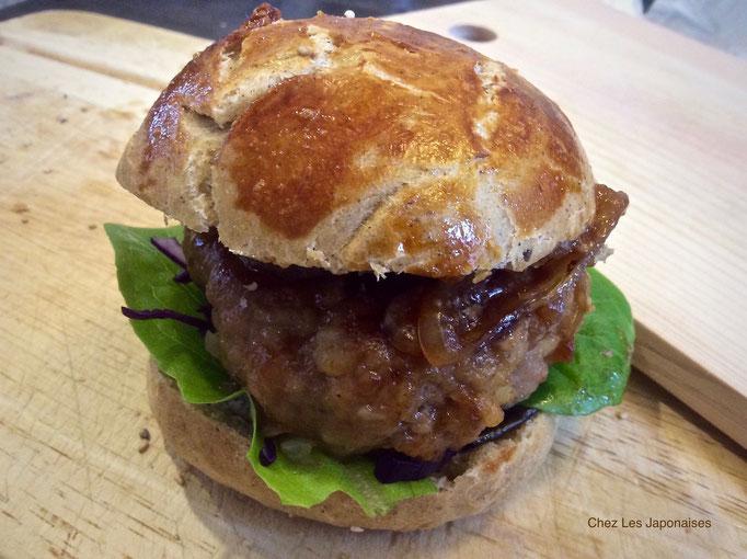 テリヤキバーガー Teriyaki burger