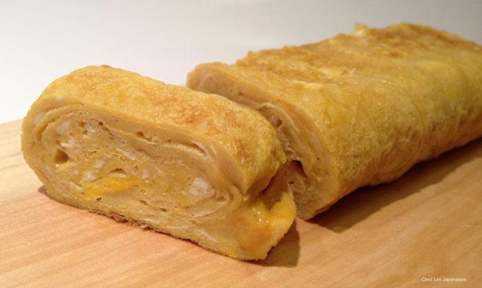 玉子焼き Omelette japonaise sucrée salée