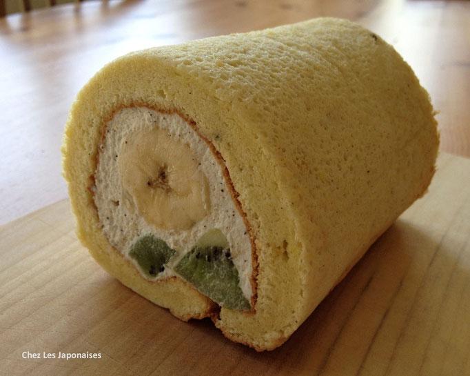 シフォンロールケーキ Chiffon Roll Cake
