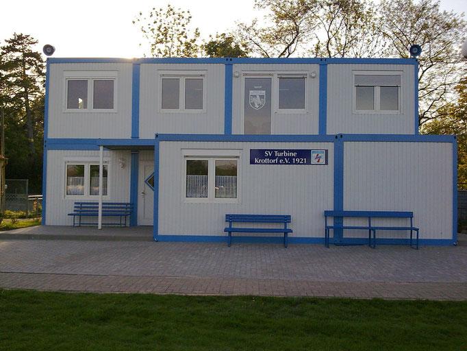 Vereinshaus SV Turbine Krottorf