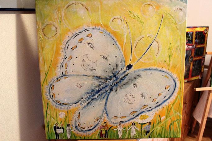 """Das Bild """"Schmetterling flieg"""" von Claudia Streimelweger"""
