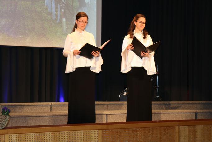 Duett: Karina Wegerer & Elisabeth Zeiler