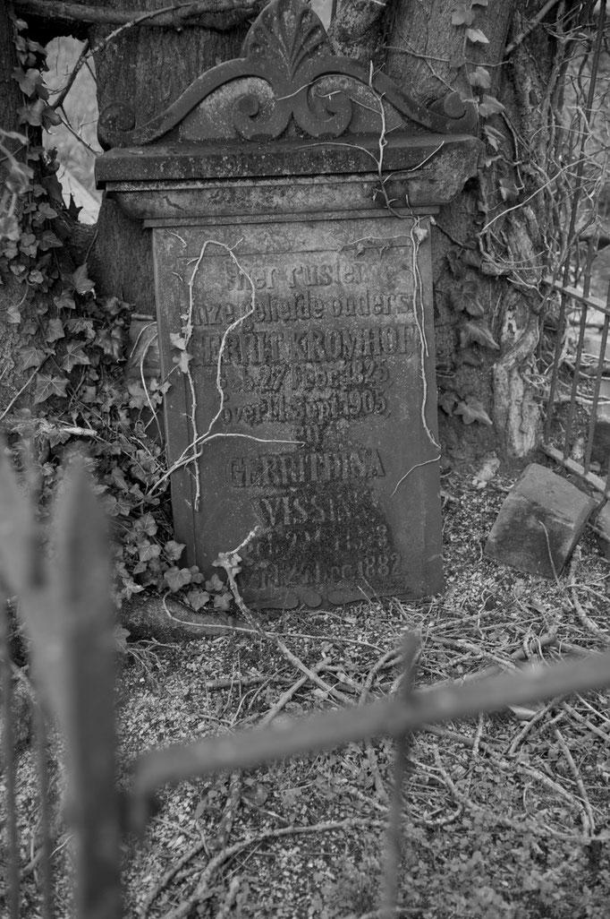 """grafsteen """"Boerenkerkhof"""" Enschede"""