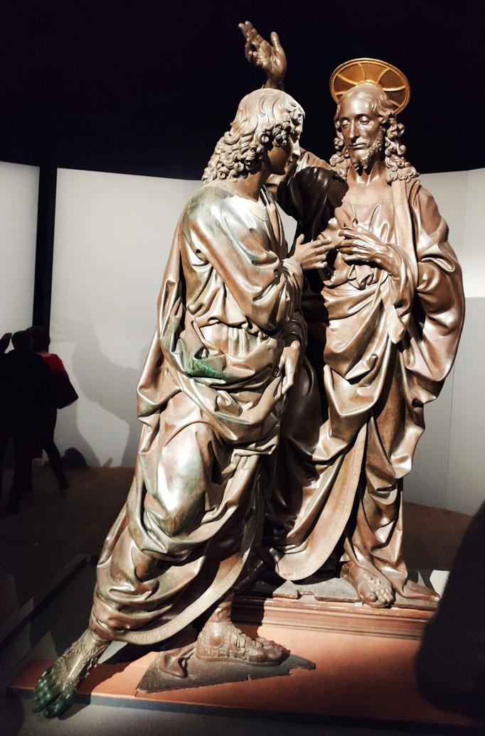 Incrédulité de  Saint Thomas - Bronze - Andrea del Verrocchio