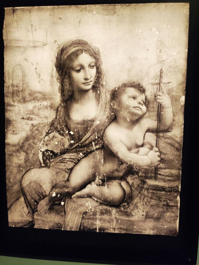 La Vierge à l'Enfant (Madone aux fuseaux) - (1501)