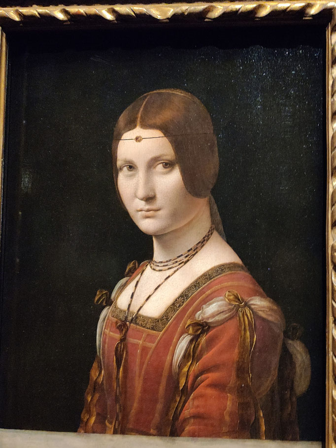 La Belle Ferronnière (1495-1497)