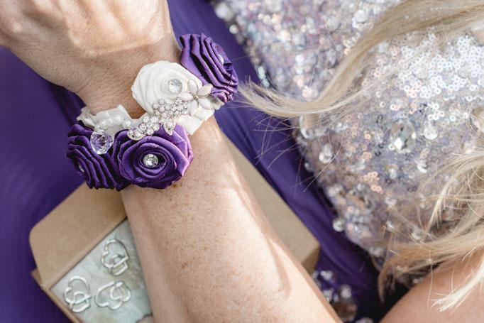Bouquet gemacht von der Hochzeitsfotografin für die Trauzeugin