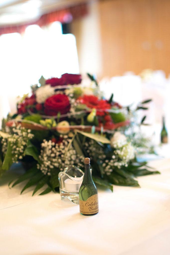 Blumengesteck Tischdeko Hochzeit