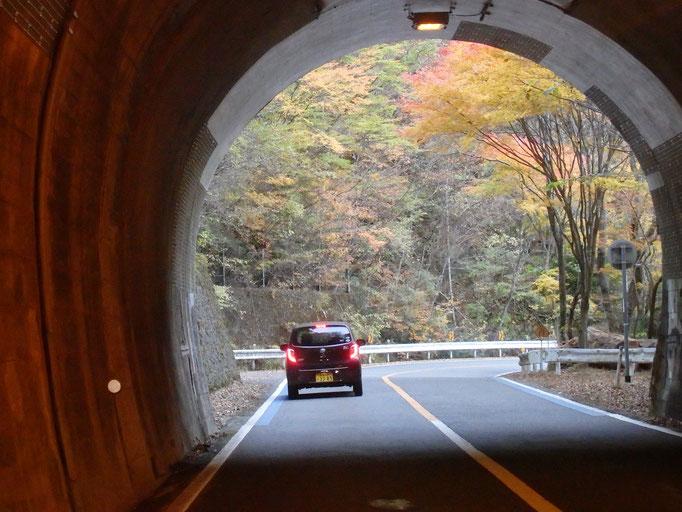 石鎚スカイラインのトンネル