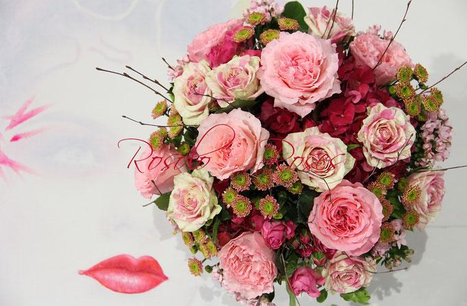 SEPTEMBRE: bouquet de couleurs douces
