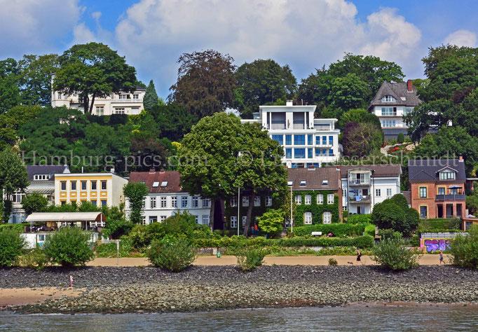 övelgö 9 - Wunderschöne Häuser am Elbhang Övelgönne