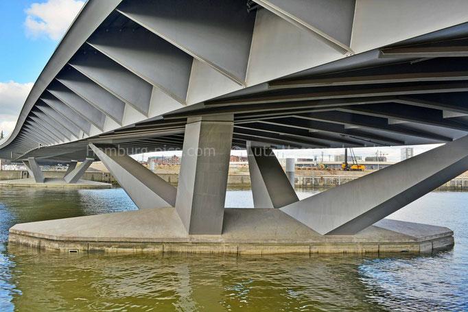 Baakenhafenbrücke in der HafenCity