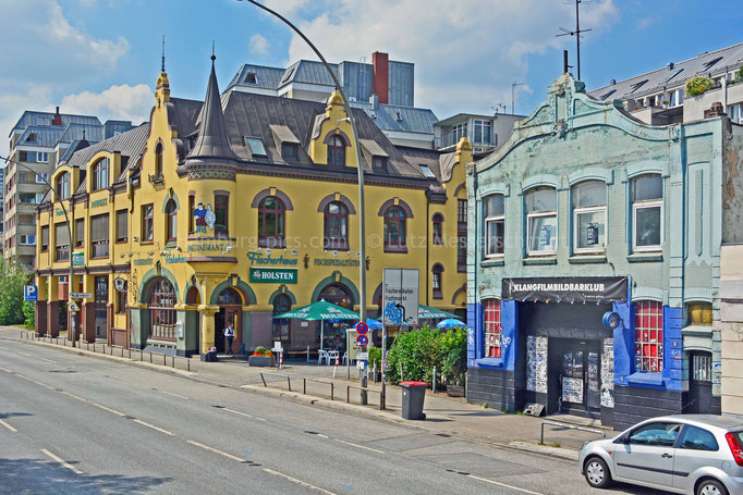 Fischerhaus an der St.Pauli-Hafenstraße