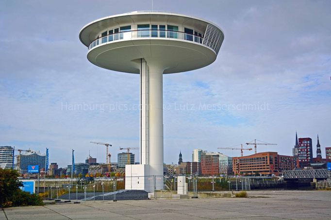 Wohnleuchtturm am Baakenhafen in der HafenCity