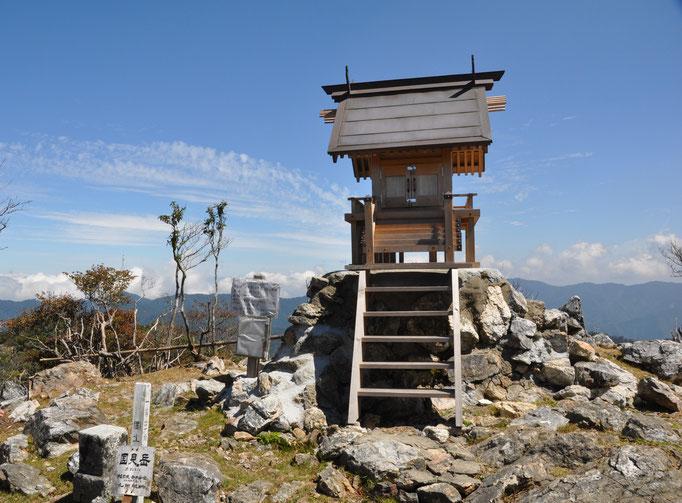 熊本県最高峰 国見岳山頂(1739m)
