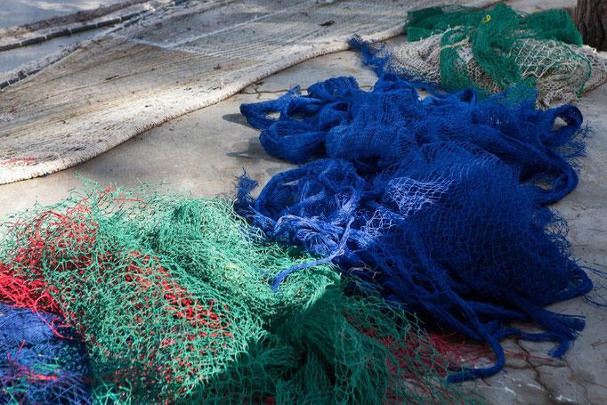 Fischernetze Cala Figuera