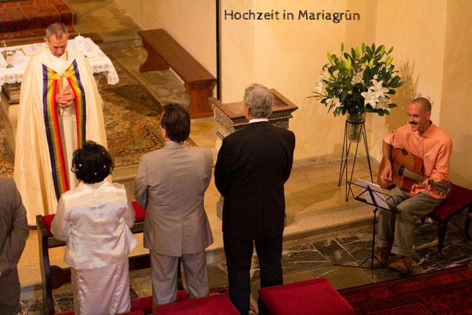 Hochzeit in Maria Grün