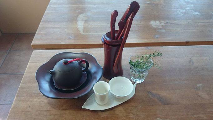小さな薬草市場 vol.2 台湾茶の講座