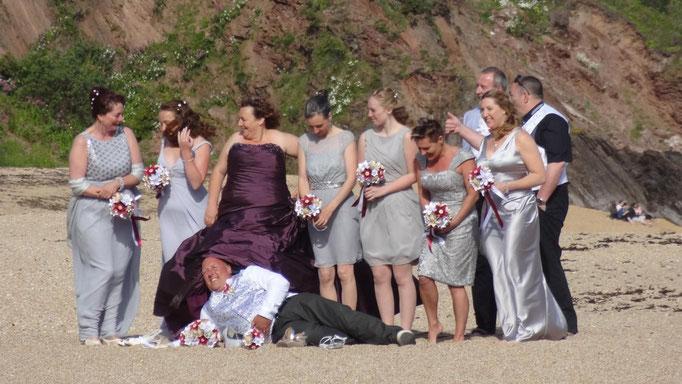 Manche kommen zum Heiraten hin......