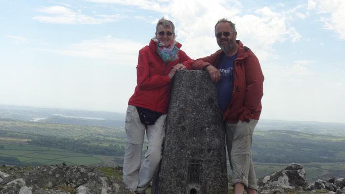 Gipfelsieg im Dartmoor, 433m
