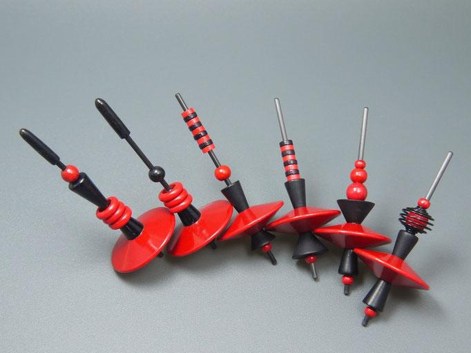 Beadmix red + black