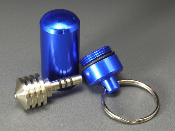 Schlüsselanhänger mit Kreisel
