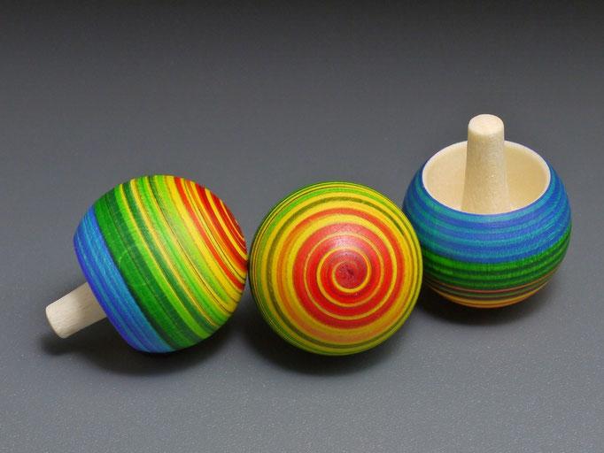 Umkehrkreisel Spiralo Regenbogen