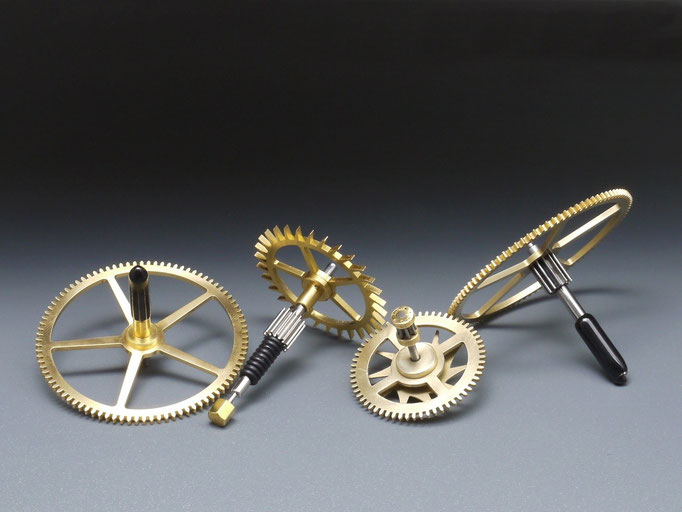 Uhrenzahnradkreisel