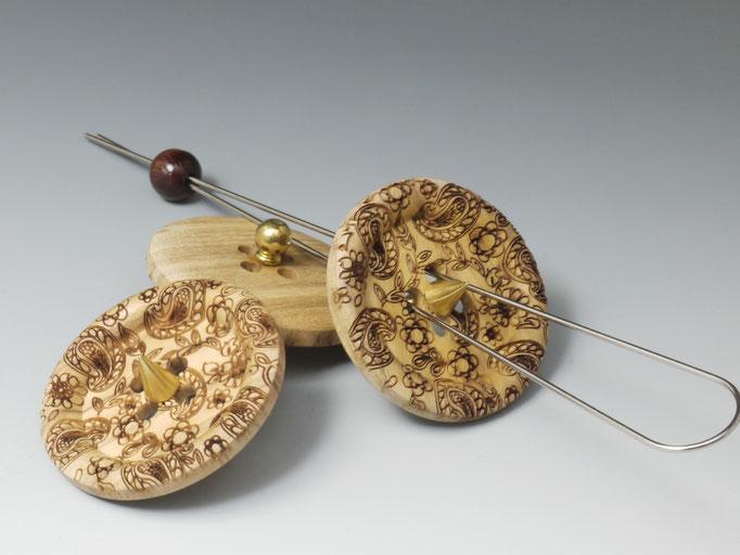 Sauseknopf Holz gr.