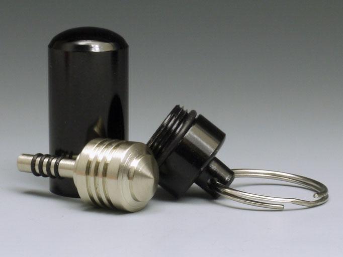 Schlüsselanhänger mit Minikreisel