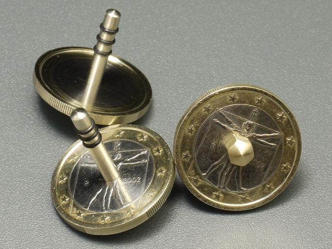 Münzkreisel da Vinci