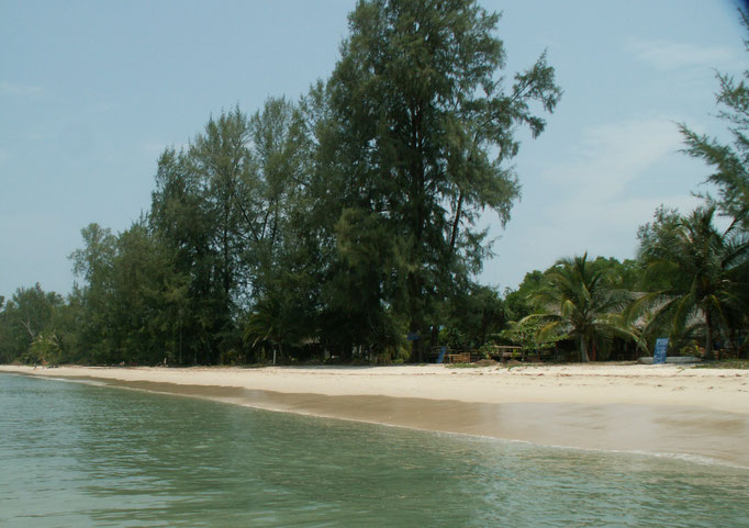 beach at 'Friends Bungalow'